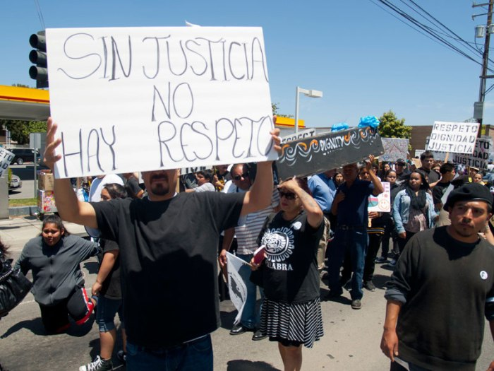 Sin Justicia No Hay Respeto. Without Justice There Is No Respect http://bradleyallen.net/