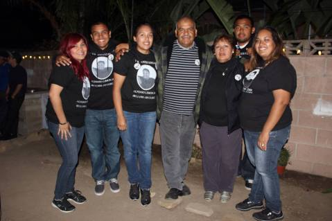 The parents and siblings of Alfonso Limon, Jr. (In Loving Memory of Alfonso Limon, Jr. Facebook page)
